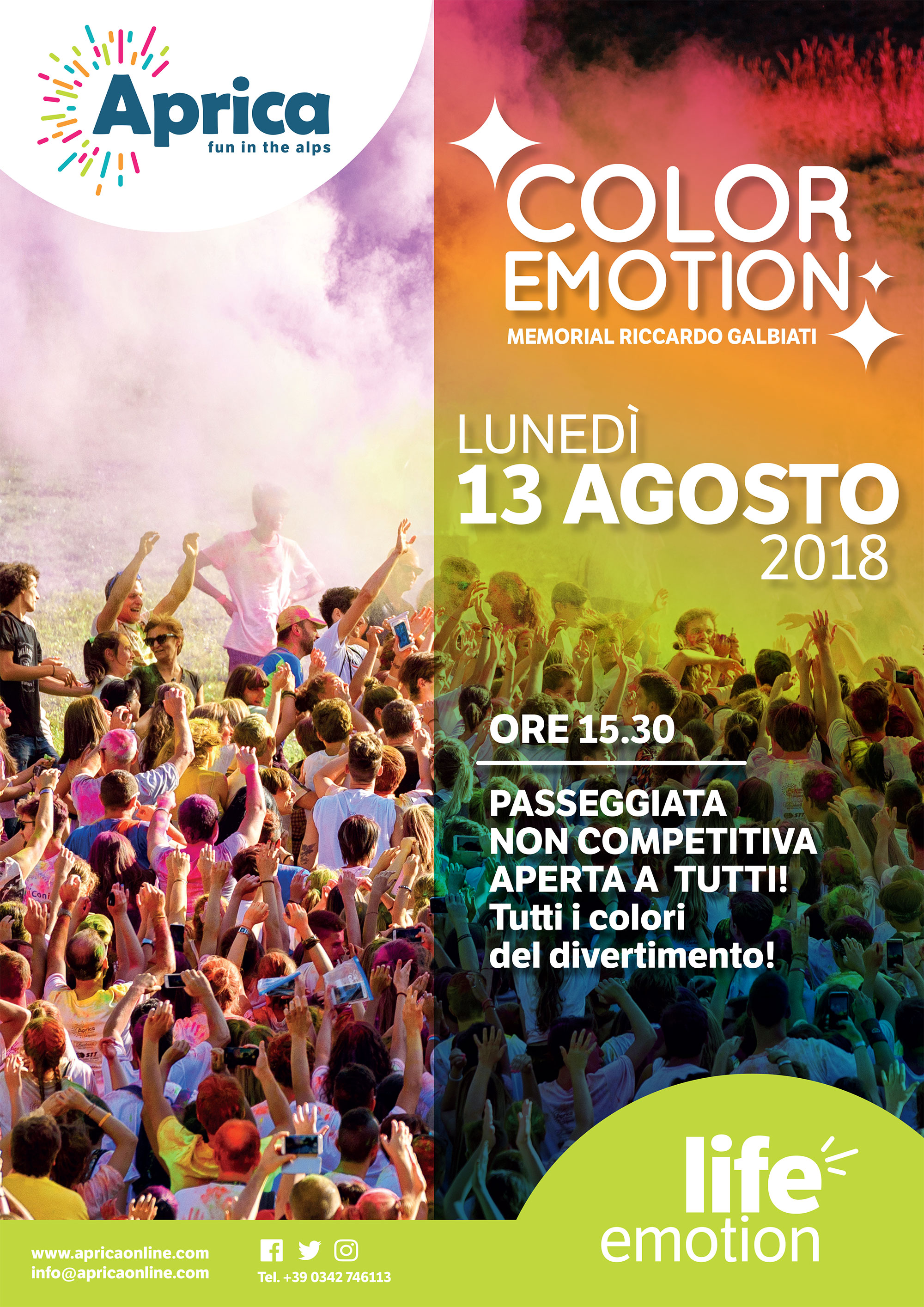 Color Emotion all'Aprica