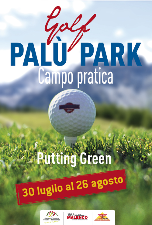Golf, aperto in Valmalenco il campo pratica all'Alpe Palù